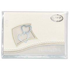 Zwei Herzen im Rahmen Danke 6 Karten / 6 Kuvert / 6 Einleger