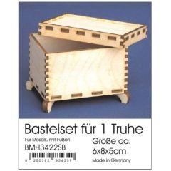 Bastelset Truhe 6x8x5 cm