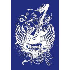 My style Schablone: Gitarre, DIN A3, 1 Schablone + Rakel im SB-Btl.