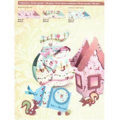 Fotokarton Wintergarden  49,5 x 68 cm
