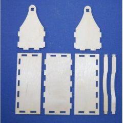Holz Werkzeugkiste für Werkzeugsatz 80mm und 100mm