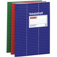 A4 Vokabelheft Nr.54  3 spaltig deutsche Qualität
