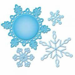 Spellbinder Shapeabilities S5-117 Snowflake Pendant