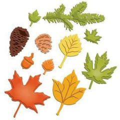 Spellbinder Shapeabilities S5-120 Fall Foliage
