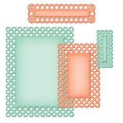 Nestabilities Card Creator S5-133  A-2 Polka Dots