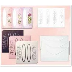 Bastel-Set Fensterkarten 1, Blumen