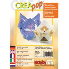 CREApop®Mini-Windlicht geometrisch 9St.
