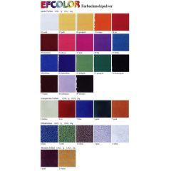 Efcolor Farbschmelzpulver, Effektfarben