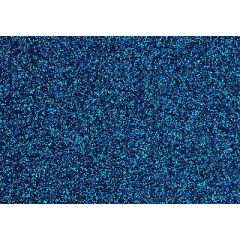 Glitter-Bügelfolie himmelblau