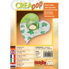 CREApop®Windlicht Herz Btl. 2 St