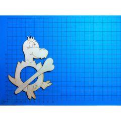 Schalhalter Dino 14 cm und 10 cm