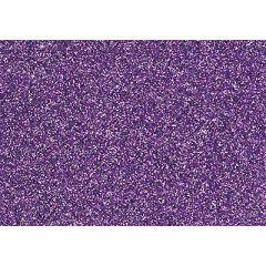 Glitter-Bügelfolie lavendel