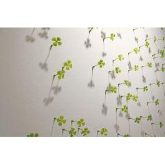 Glückswand - Kleeblätter für die Wand
