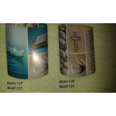 """Mini-Tischlichter Ambiente """"Prayer"""" - 2 verschiedene Motive"""