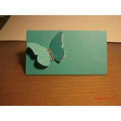 Tischkarte Schmetterling