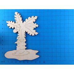 Palme mit Insel 30mm - 120mm