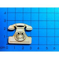 Knopf: Telefon 30 mm