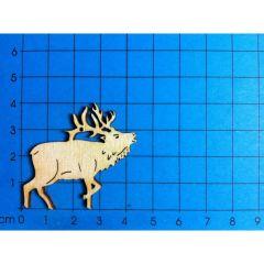 Hirsch röhrend 40 mm - 160mm