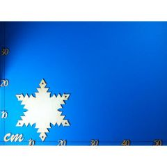 Türschild Eiskristall ca. 200 mm