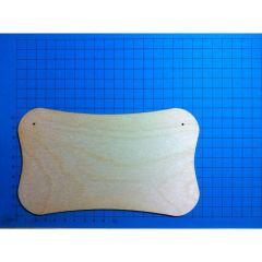 Brettchen schmal 18 x10,5 cm