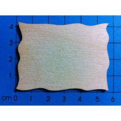 Rahmen einfach aus Holz in verschiedenen Größen