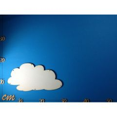 Türschild Wolke 28 cm