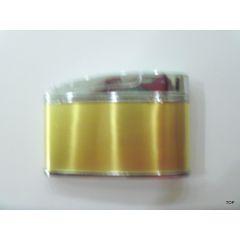Gas-Feuerzeug Tischfeuerzeug 2 Farben zeitlos klassischen Form der 60/70er Jahre