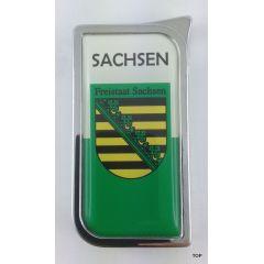 Colton  Gasfeuerzeug mit hochwertiger Doming-Beschichtung SACHSEN Freistaat Sachsen