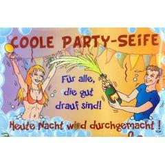 COOLE PARTY SEIFE Pflegeseife Geschenk Lustige Geschenkidee GAG Seife 100g