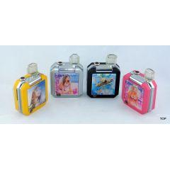 Qualitäts Feuerzeug Gas Klapphandy Format mit 3D Bild und Blinklicht