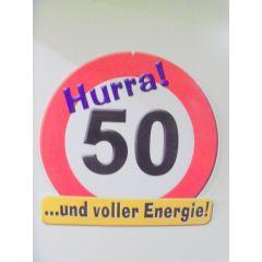 Dekoidee zum 50. Geburtstag Party Fest und voller Energie