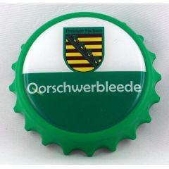 Kapselheber Sachsen Oorschwerbleede Flaschenöffner Magnet DDR Sächsisch Ostalgie Geschenkidee