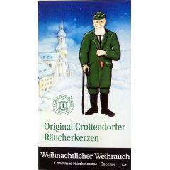 Räucherkerzen Original Crottendorfer Räucherkerzen  Weihnachtlicher Weihrauch 11 verschiedene Düfte