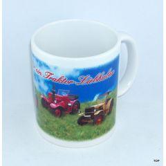 Tasse Lanz Bulldog Traktor-Liebhaber Traktoren Porzellan Landwirt NEU!!!