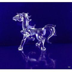 Glasfigur Glaspferd Glasskulptur wunderschön Handarbeit
