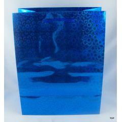 Geschenktüte aus glänzendem metallicLackpapier Maße: 23 x 18 x 10 cm