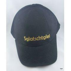"Basecap Sachsen ""Sglatschtglei"" sächsisch Mütze witzig schwarz Ossi Top!!!"
