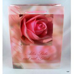 Geschenktüte Alles Liebe als Verpackung für Ihre Präsente Maße:  23 x 18 x 10 cm