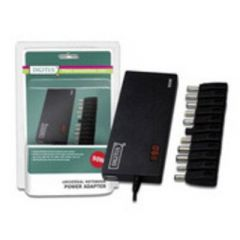 DIGITUS Notebook Netzteil Slim mit LED 90W In 100-240V out 15/16/18/18.5/19/19.5/20VoltDC