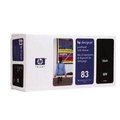 Tinte HP Nr. 83 C4960A Druckkopf+Reiniger schwarz UV DesignJet 5000/5500