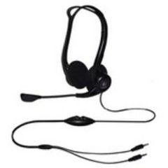 Logitech Headset OEM/PC 860 Stereo , Mikrofon mit Rauschunterdrückung, Laustärkeregler am Kabel