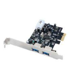 ULTRON PCI-e USB 3.0 2 Port UHPe-600 Hot Swap 4 Pin Stromanschluss fuer Netzteilst. PCI-e 2.0 Standard