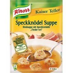 Knorr Kaiser Teller Speckknödel Suppe