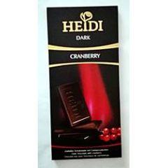 Heidi Schokolade Dark Cranberry 80g