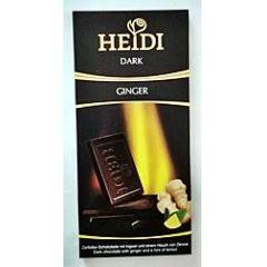 Heidi Schokolade Dark Ginger 80g