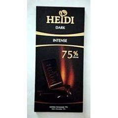 Heidi Schokolade Dark Intense 75% 80g