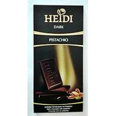 Heidi Schokolade Dark Pistachio 80g