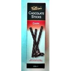 Fellini Chocolate Sticks Dark 125g