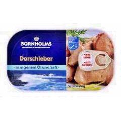Bornholms Dorschleber in eigenem Saft und Öl 115 g