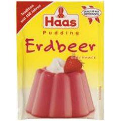 Haas Pudding Erdbeer - Geschmack